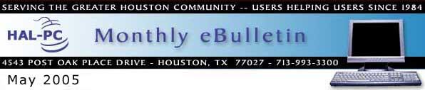 HAL-PC Monthly eBulletin - April 2005