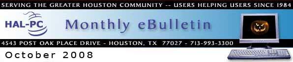 HAL-PC Monthly eBulletin - September 2008