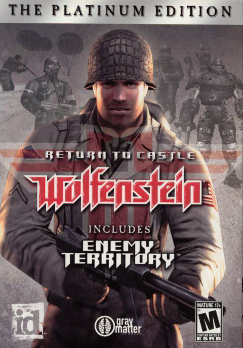 Return To Castle Wolfenstein Platinum Edition (PC) 2009