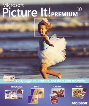Microsoft Picture It! Photo Premium 10